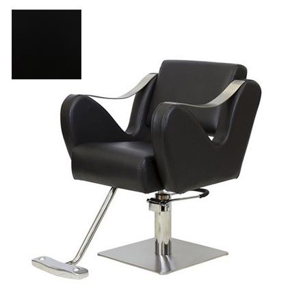 Мэдисон, Кресло парикмахерское «МД-365» гидравлическое, хромированное, черное  - Купить