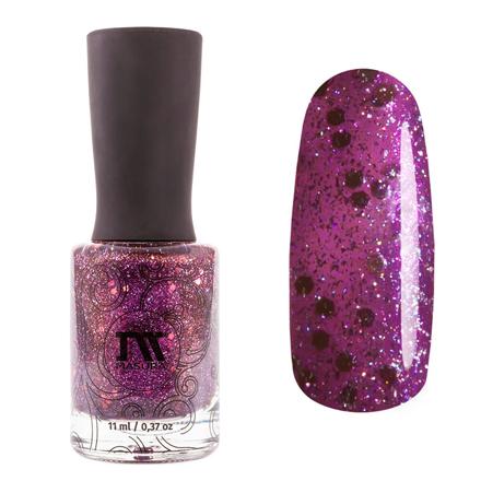 Купить Masura, Лак для ногтей «Золотая коллекция», Glamorous sky, 11 мл, Фиолетовый