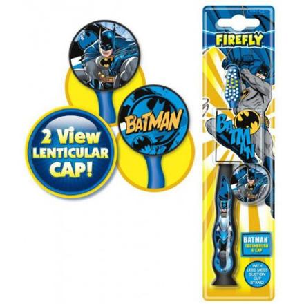 Купить Batman, Детская зубная щетка с защитным колпачком, мягкая