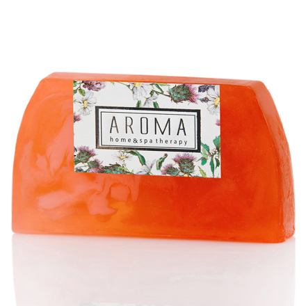 Купить Aroma Home & Spa Therapy, Мыло Silky Peach, 100 г, Aroma Home&Spa Therapy