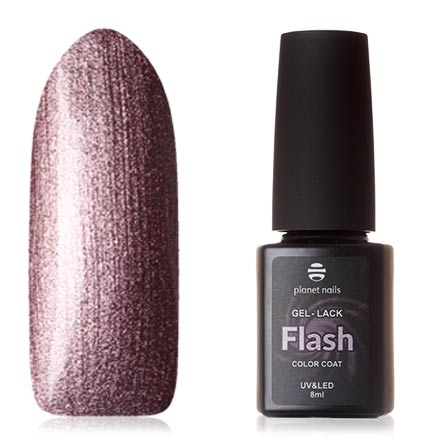 Купить Planet Nails, Гель-лак Flash №752, Фиолетовый