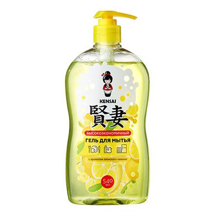 KENSAI, Гель для мытья посуды «Японский лимон», 540 мл  - Купить