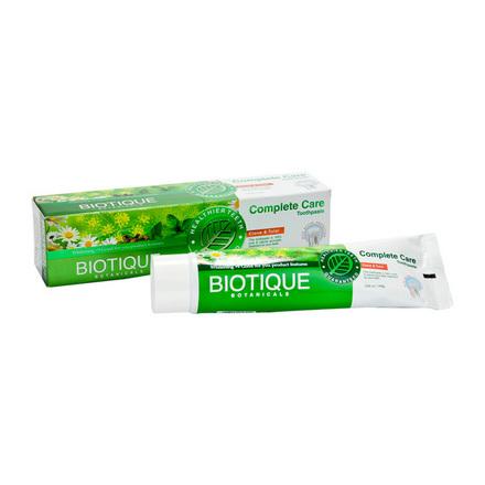 Biotique, Аюрведическая зубная паста Complete Care, 140 г