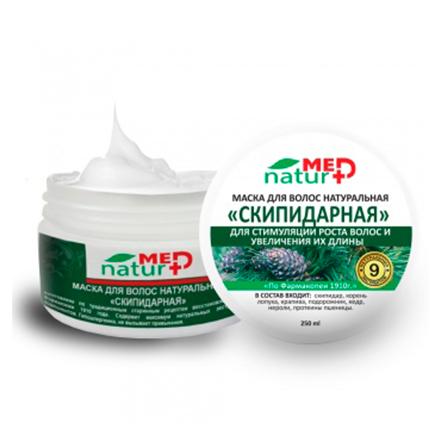 Купить NaturMed, Маска для волос «Скипидарная», 250 мл