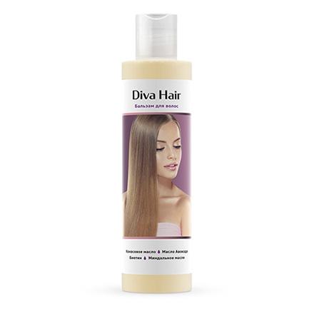 Купить Diva Hair, Бальзам для волос, 200 мл