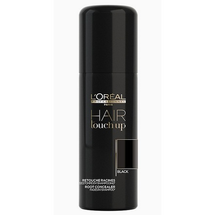 Loreal Professionnel, Hair Touch Up, Консилер для волос, Черный, 75 мл