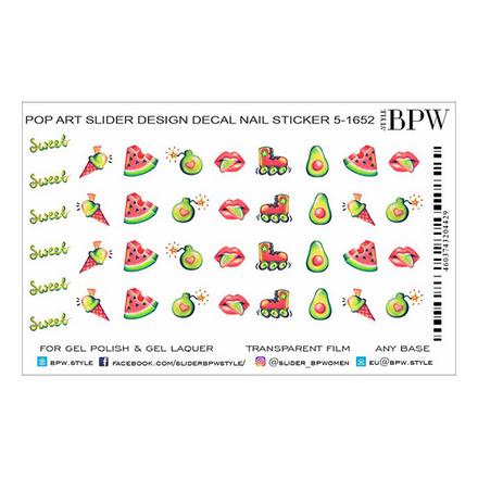 Купить BPW.style, Слайдер-дизайн Pop Art 3 №5-1652