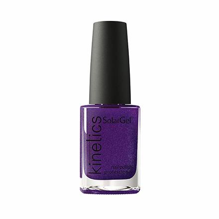 Купить Kinetics, Лак для ногтей SolarGel № 420, Partyholic, Фиолетовый