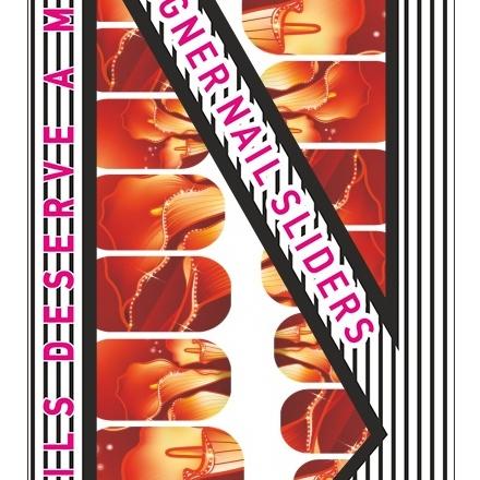 Blixz, Термопленка №00111Термопленка для ногтей<br>Термопленка для дизайна ногтей рук и ног.<br>