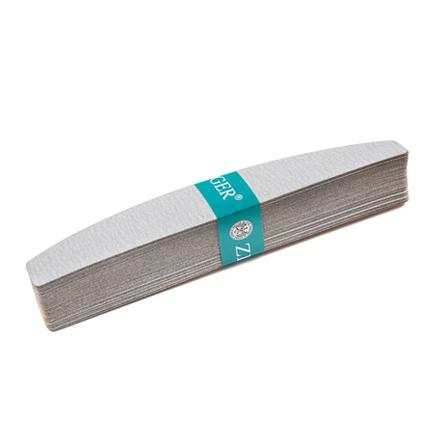 Zinger, Набор сменных наждачных файлов для пилок, 220 гритСменные файлы для пилок-основ<br>Абразивные поверхности для маникюра, в упаковке 50 шт. Размер: 28х178 мм.