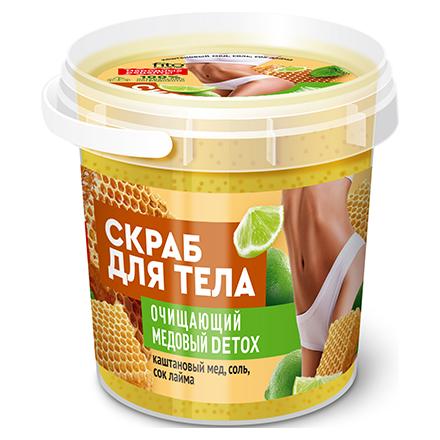 Купить Fito, Скраб для тела Organic «Медовый Detox», 155 мл