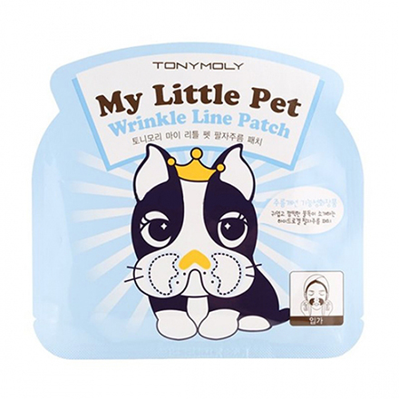 Tony Moly, Маска для носогубной области My Little Pet Wrinkle Line Patch