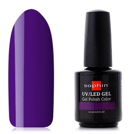 Sophin, Гель-лак №0765, Ultra Purple, Фиолетовый  - Купить