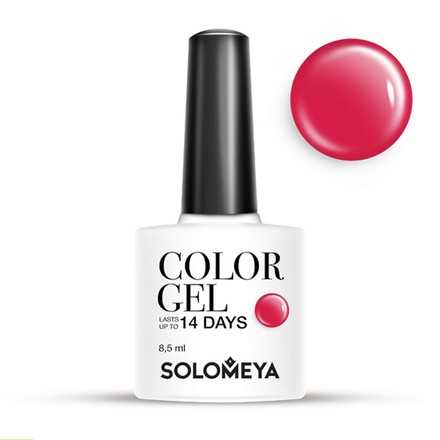 Купить Solomeya, Гель-лак №101, Red, Wella Professionals, Красный