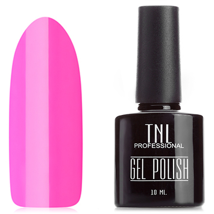 Купить TNL, Гель-лак №134, Розовая фуксия, TNL Professional, Розовый