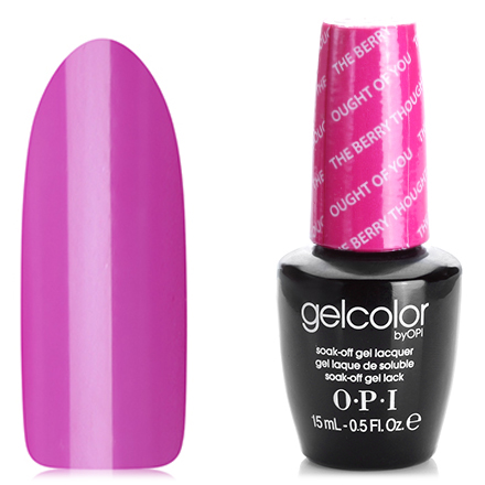 OPI GelColor, цвет The Berry Thought of You GCA75