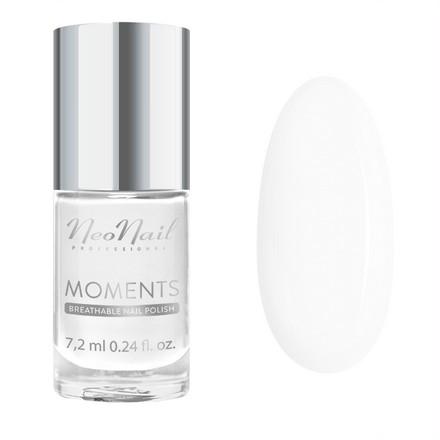 Купить NeoNail, Лак для ногтей Moments №7063-7, French White, NeoNail Professional, Белый