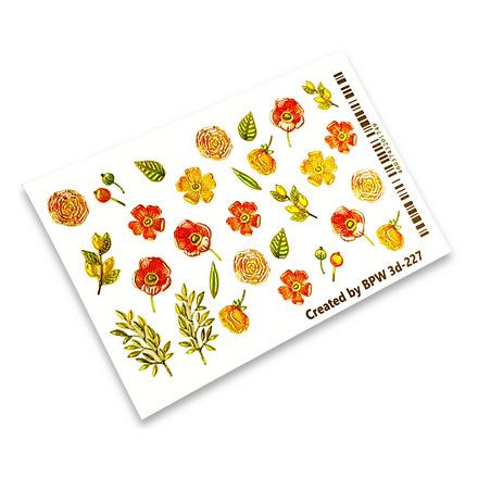 Купить BPW.style, 3D-слайдер «Летние цветы» №3d-227