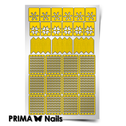 Prima Nails, Трафареты «Зима»Трафареты для маникюра<br>Самоклеящиеся трафареты для необычного дизайнерского маникюра.