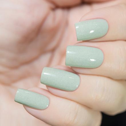 Купить Masura, Лак для ногтей «Золотая коллекция», Ягель, 11 мл, Зеленый