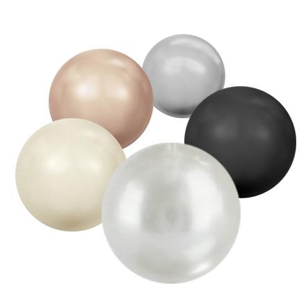 Swarovski, Набор «Кристальные жемчужины» swarovski кристальные жемчужины crystal cream pearl 1 5 мм