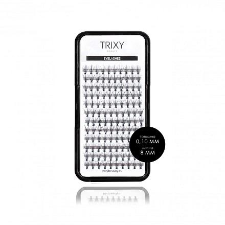 Купить Trixy Beauty, Ресницы для наращивания Smart, 8 мм, 10 шт. в пучке
