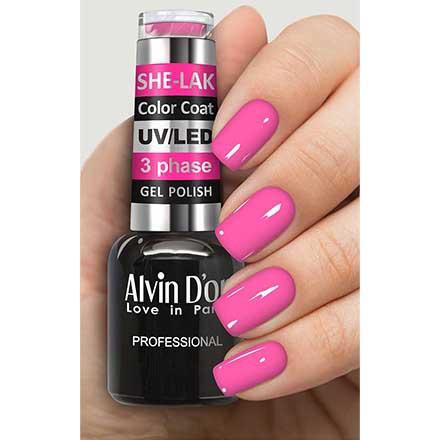 Купить Alvin D'or, Гель-лак №35128, Розовый