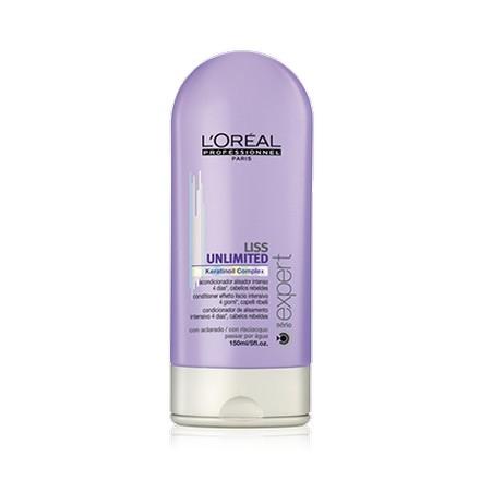 Loreal Professionnel, Serie Expert Liss Unlimited Conditioner, Смываемый уход, 150 млМаски для волос <br>Смываемый уход для непослушных и вьющихся волос<br><br>Объем мл: 150.00