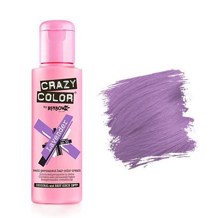 Crazy Color, Краска для волос №54, LavenderКраска для волос<br>Цвет: лавандовый. Объем: 100 мл.