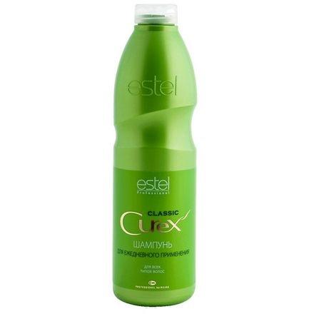 estel curex classic шампунь увлажнение и питание для ежедневного применения 300 мл Estel, Шампунь Curex Classic для всех типов волос, 1000 мл