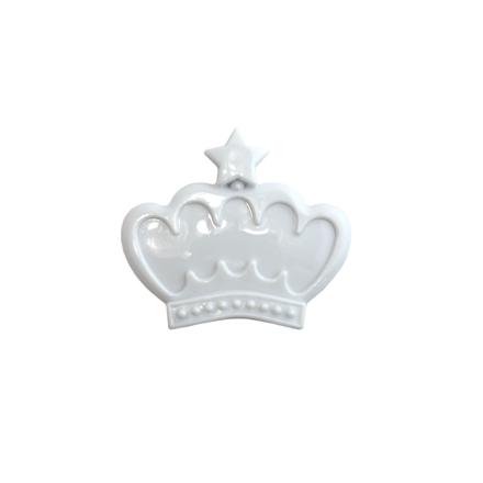 TNL, Рамочка для типс корона, белая