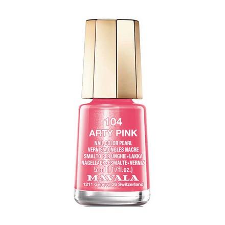 Купить Mavala, Лак для ногтей №104, Arty Pink, Розовый