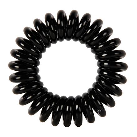 Купить Dewal, Резинки для волос «Пружинка», черные, 3 шт.