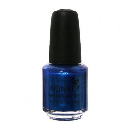 Konad, лак для стемпинга, цвет S27 Blue Pearl 5 ml (синий перламутровый) недорого