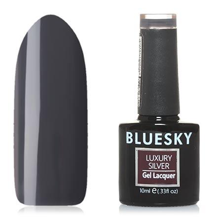 Купить Bluesky, Гель-лак Luxury Silver №177, Черный