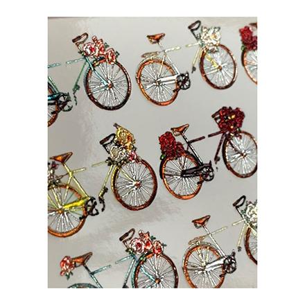 Anna Tkacheva, 3D-слайдер Crystal №371 «Лето. Велосипеды»
