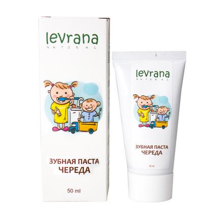 Купить Levrana, Зубная паста детская «Череда», 50 мл