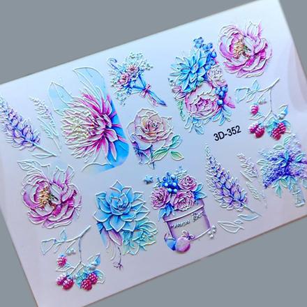 AnnaTkacheva,3D-слайдер№352 «Цветы. Цветочки» фото
