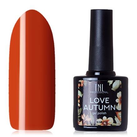 Купить TNL, Гель-лак Love Autumn №05, TNL Professional, Оранжевый