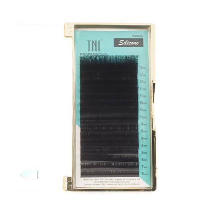 TNL, Ресницы на ленте силиконовые 0,07 мм, C-изгиб