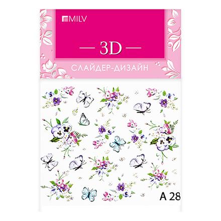 Купить Milv, 3D-слайдер A28