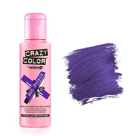 Crazy Color, Краска для волос №62, Hot Purple