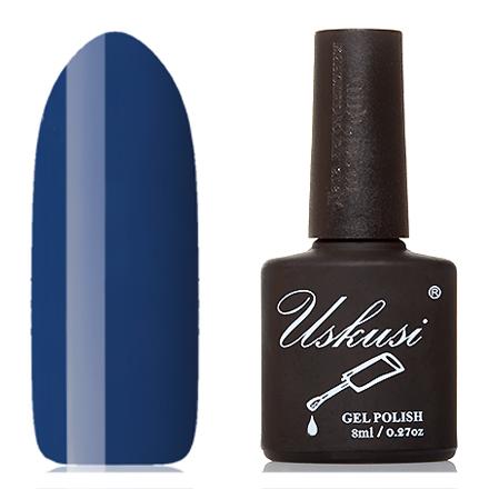 Uskusi, Гель-лак №209Uskusi<br>Гель-лак (8 мл) цвета индиго, без перламутра и блесток, плотный.<br><br>Цвет: Синий<br>Объем мл: 8.00