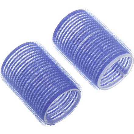 Dewal, Бигуди-липучки, синие, 16 мм фото