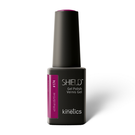 Купить Kinetics, Гель-лак Shield №174, 15 мл, Фиолетовый