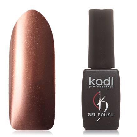 Kodi, Гель-лак №H25Kodi Professional<br>Гель-лак (8 мл) кофейный, с эффектом металлик, плотный.