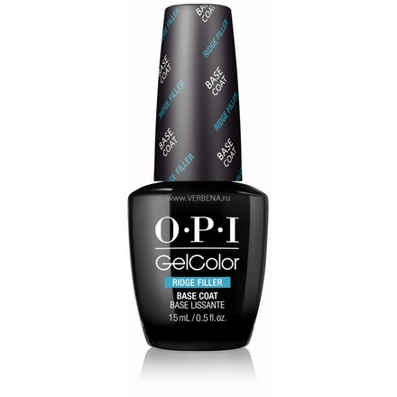 OPI GelColor, Выравнивающая база, Ridge Filler Base Coat, 15 мл opi gelcolor гель лак i sea you wear opi gca73