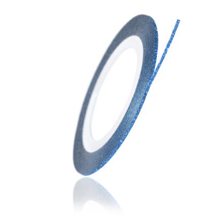 TNL, Нить на клеевой основе перламутровая, синяя