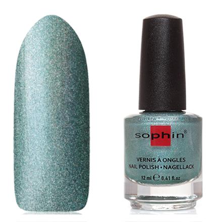 Купить Sophin, Лак для ногтей №0376, Magic mint, Зеленый