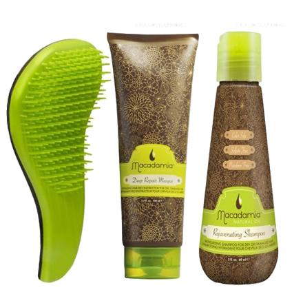 Macadamia, Набор для интенсивного восстановления волос